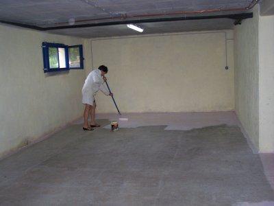 suelo de garaje