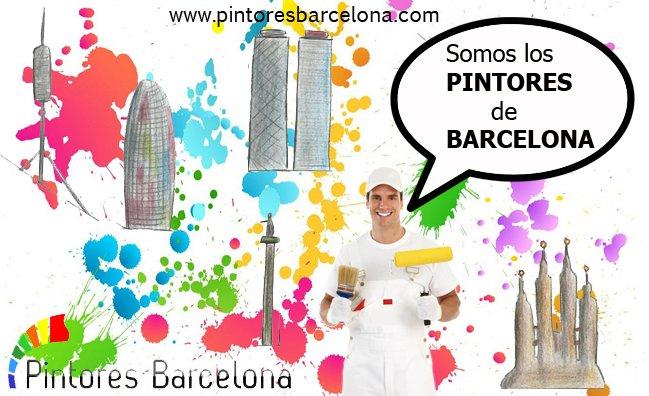 Pintar piso en Barcelona