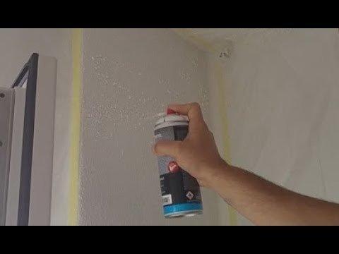 arreglar gotelé con spray