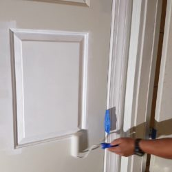 Como pintar puertas de madera en blanco