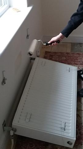 Retirar radiador para pintar