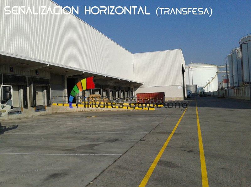 Señalización horizontal Barcelona