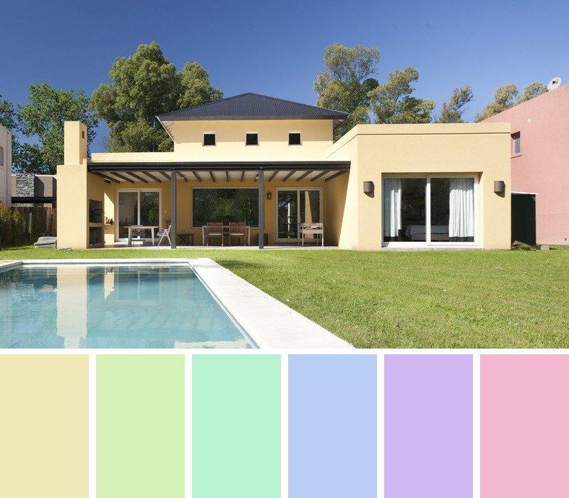 Color suave fachada