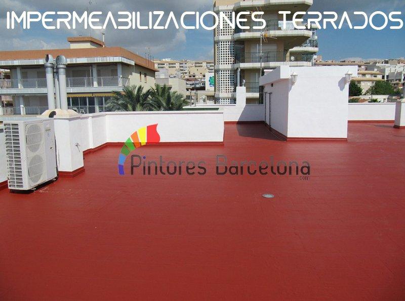 impermeabilización terraza Barcelona