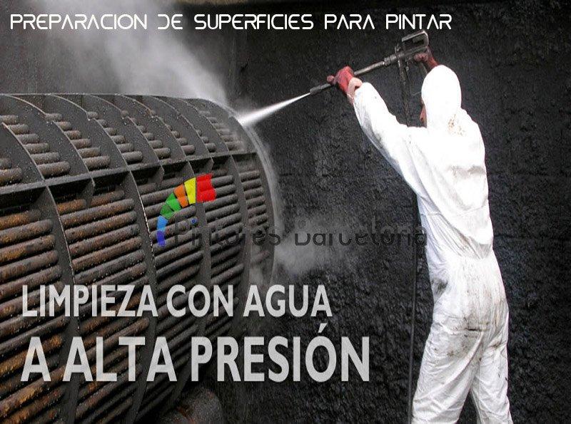 pintores Madrid limpieza alta presión