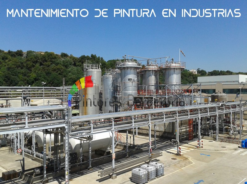 pintores Madrid mantemiento industrial