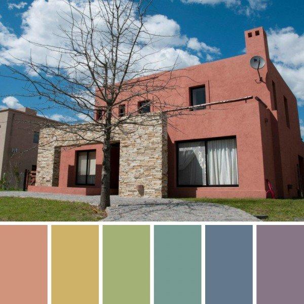 Colores fachada chalets