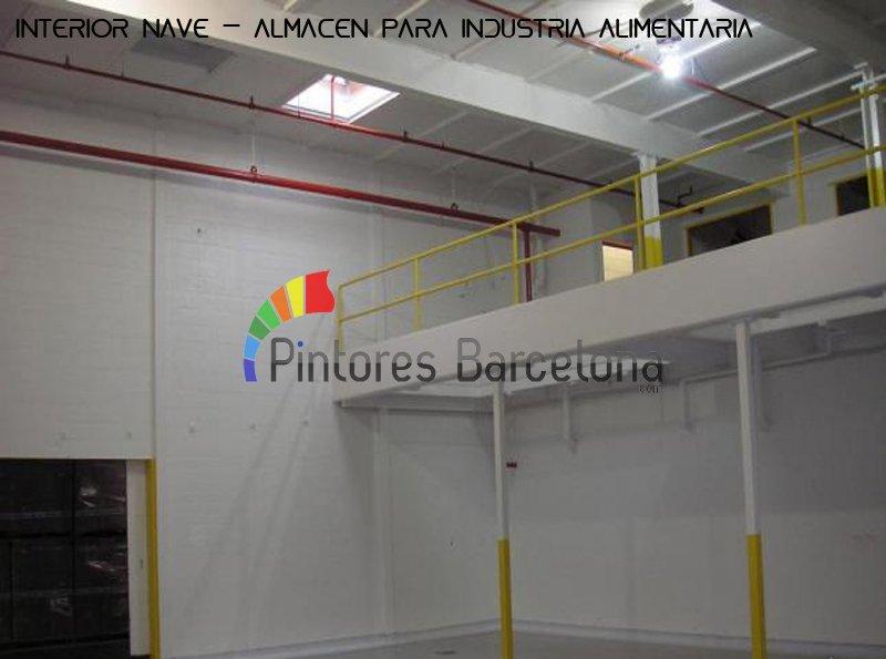 empresa de pintores pintado almacén