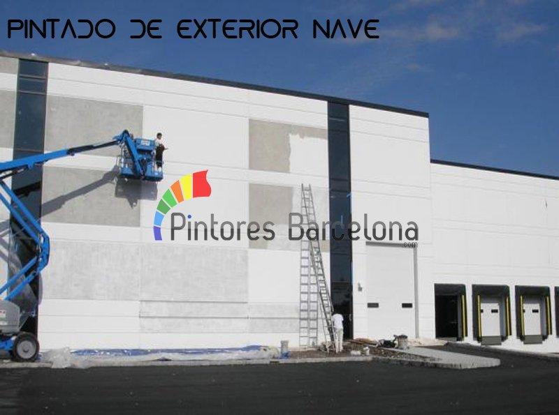 Pintura industrial Barcelona pintado de nave