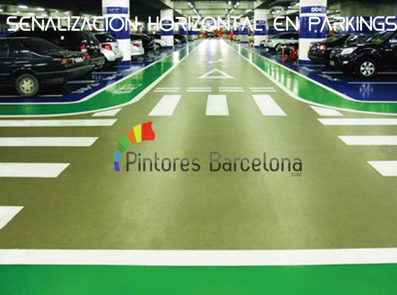 Pintura industrial Barcelona pintar parking