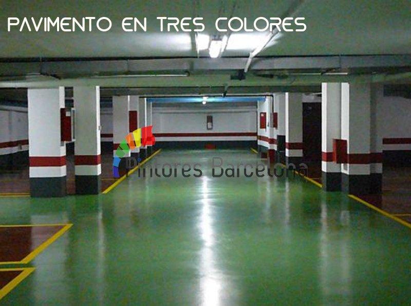Pintores Barcelona pavimento