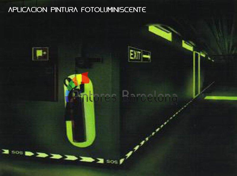 Pintura fotoluminiscente