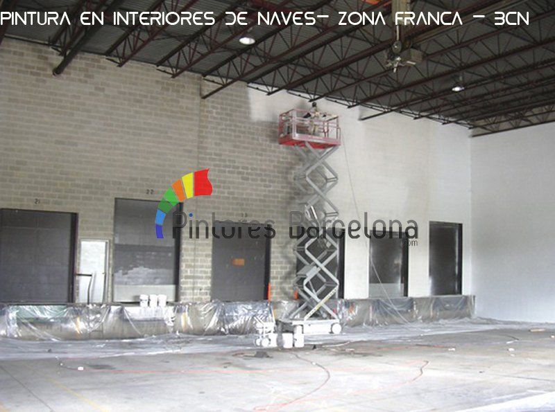 Pintar interior de naves industriales